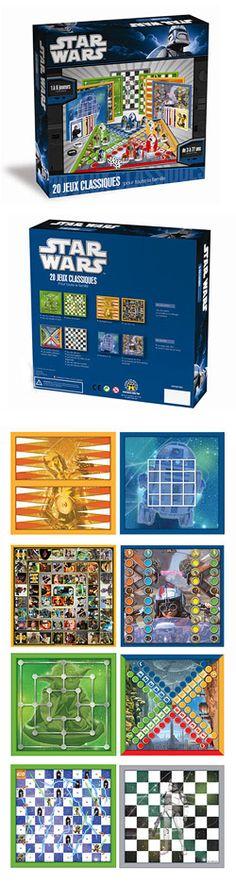 Star Wars classic board games. Juegos de mesa clásicos de Star Wars.  #games #juegos #starwars
