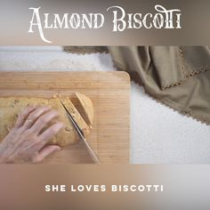 These almond biscotti provide just the right amount of crunchiness to chewiness…. These almond biscotti provide just the right amount of crunchiness to chewiness. Italian Biscotti Recipe, Almond Biscotti Recipe, Almond Meal Cookies, Ricotta Cookies, Italian Cookies, Shortbread Cookies, Italian Christmas Cookie Recipes, Easy Holiday Recipes, Italian Desserts