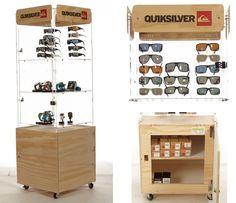 QUIKSILVER Eyewear amp Watch Display Floor Fixture