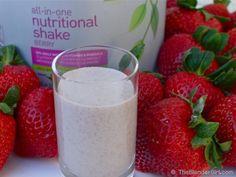 Vegan Probiotic Berry Almond Kefir Protein Shake