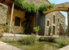 Casa rural Mas Ametller en Palau-Sator (Fontclara). Comarca del Baix Empordà.
