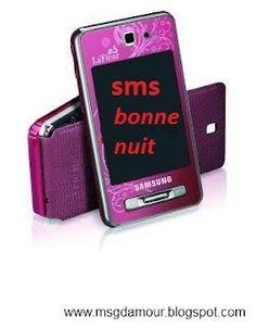 SMS bonne nuit