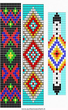 Loom Beading Patterns for Beginners Easy Peyote Beading Patterns, Loom Bracelet Patterns, Bead Loom Bracelets, Bead Loom Patterns, Beaded Jewelry Patterns, Weaving Patterns, Loom Beading, Bead Jewelry, Bead Loom Designs