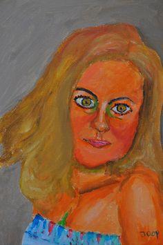 Lidija, Acrylverf op doek 30x40 cm