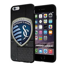 "Soccer MLS Sporting Kansas City SC Logo, Cool iPhone 6 Plus (6+ , 5.5"") Smartphone Case Cover Collector iphone TPU Rubber Case Black Phoneaholic http://www.amazon.com/dp/B00WPR97W8/ref=cm_sw_r_pi_dp_LnTpvb1VPD5T0"