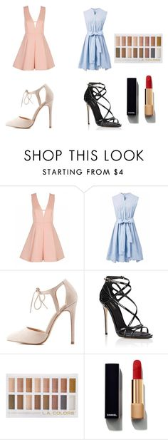 """Untitled #476"" by asiannaye on Polyvore featuring Chicwish, Charlotte Russe, Dolce&Gabbana and Chanel"