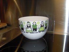 Finel, Arabia Finland, harviainen, erikoinen, kulho, Kaj Franck Kitchenware, Tableware, Finland, Mid-century Modern, Enamel, Mid Century, Ceramics, Dishes, Mugs
