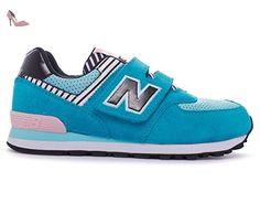 New Balance Kids Lifestyle filles, suède, sneaker low, 30.5 EU - Chaussures new balance (*Partner-Link)