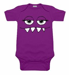 Girly Monster Purple One Piece