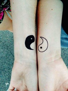 40 Forever Matching Tattoo Ideas For Best Friends   http://www.barneyfrank.net/forever-matching-tattoo-ideas-for-best-friends/