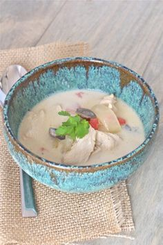 Tom Kha Gai {Thai Coconut Soup} - Against All Grain (leave out chili powder and cherry tomato for AI)