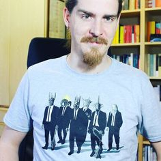 Solo malvagio amore per la nuova maglietta di @teetee.eu! :D  Se volete andate sul loro shop e usate il codice sconto filosofarsogood! ;) #reservoirlords