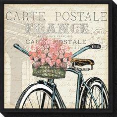 Painting Prints, Wall Art Prints, Fine Art Prints, Paintings, Vintage Diy, Vintage Bicycle Art, Vintage Images, Canvas Frame, Canvas Wall Art