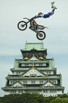 Red Bull X-Fighters in the land of the rising sun.