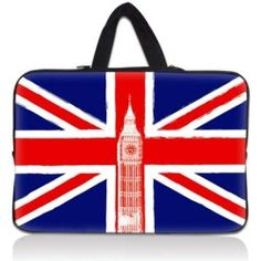 "Big Ben 17.1"" 17.3"" inch Laptop Bag Sleeve Case with Hidden Handle for Apple MacBook pro 17/Dell Inspiron 17R Alienware M17x/Samsung 700 Sony Vaio E 17/HP dv7 E"