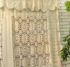 Resultado de imagem para cortinas de croche para pia - novidades