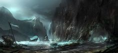 shipwreck cove by ~YoBarte on deviantART