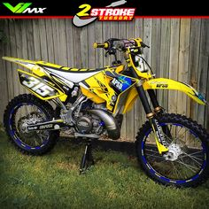 Foto: Hot or Not? Yamaha YZ250 by Robi Field #motocross #dirtbike #yz250…