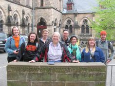 Wartburg College May Term in Germany led by Kit Kleinhans, professor of religion at Wartburg College, Waverly, Iowa
