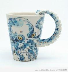 octopus mug,