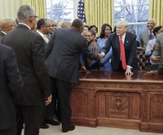 There is nothing unusual about so-called Negro leaders being invited to state, federal and local government institutions to meet with elected politicians