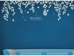 Vinyl wall sticker wall decal Art murals wall stencils tree decals- classic of forest. $64.00, via Etsy.