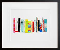 ideal bookshelf 102: cooking | jane mount archival pigment print...would make a lovely addition to my kitchen wall