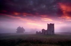 Knowlton Church in Dorset yesterday morning. this place is suppose to be very haunted so I wanted to create an almost eerie, spooky atmosphere. The fog and mist ceratinly helped but I do love the way you can bring out the rich colours in the Fuji sensors. XT 2 and 10-24 with a 3 stop Grad for the sky. Photo by David Thompson