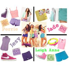 Little mix style go buy it Little Mix Outfits, Little Mix Style, Cute Outfits, My Style, Sleepover Outfit, Perrie Edwards Style, Band Outfits, Girl Bands, School Fashion