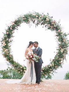 Featured Photographer:Blush Wedding Photography; wedding ceremony idea