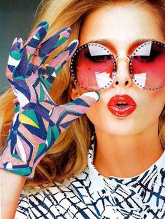 *glasses. glove.*