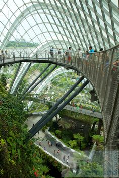 Reisebericht Gardens by the Bay  grüne Oase in Singapur