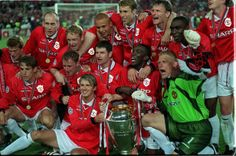 What a win! It all happened in the last 2 minutes as Man United beat Bayern Munich to win the 1999 Champions League and to secure the historic Treble .... Get your FREE DOWNLOAD of the SportsQuest app at www.sportsquestapp.com @SportsQuestApp