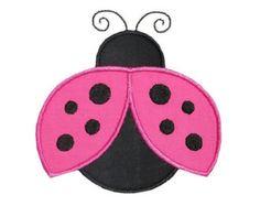 Flying Ladybug Applique Design - For Savannahs butterflies and ladybugs quilt Applique Templates, Applique Embroidery Designs, Machine Embroidery Applique, Applique Patterns, Applique Quilts, Quilt Patterns, Crochet Patterns, Sewing Crafts, Sewing Projects