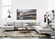 © www.lumas.com. Work by Jens Hausmann. Furnishings by BoConcept.
