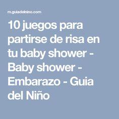 10 juegos para partirse de risa en tu baby shower - Baby shower - Embarazo - Guia del Niño