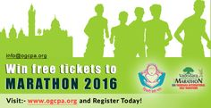 Win free tickets to Marathon 2016 ….visit ogcpa.org and register today! http://ogcpa.org/