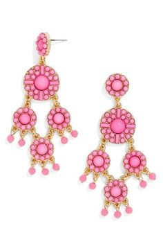 BaubleBar 'Sundrop' Chandelier Earrings available at #Nordstrom