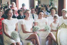 Cute bridesmaids in their @ZaraClothes dresses...