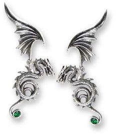 #Gothic - Bestia Regalis Earring by Alchemy Gothic, England