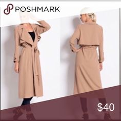 🌹CHIC LIGHTWEIGHT TIE CARDIGAN🌹 Deep tan...very light weight.... pairs w EVERYTHING literally dresses,jeans,shorts...you name it!!! Must have piece GREAT FOR LAYERING!!! No buttons just ties ((bundle and save)) Jackets & Coats