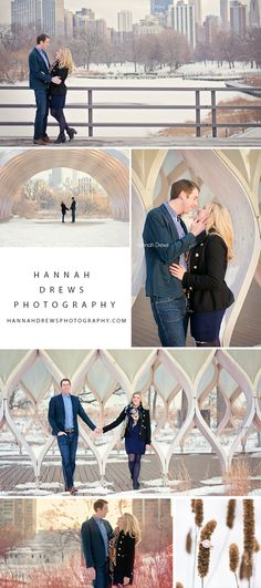 Chicago engagement photo session in Lincoln Park. Engagement photo pose ideas #engagementpictures #chicagoengagement
