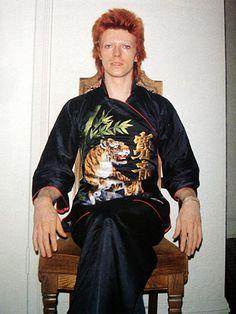 David Bowie as Ziggy Stardust (a character he still can't seem to shake) David Bowie Born, David Bowie Starman, David Bowie Ziggy, Angela Bowie, Duncan Jones, Ziggy Played Guitar, The Thin White Duke, Pretty Star, Major Tom