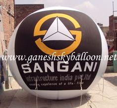 Ganesh Sky Balloon is one of the best company in Manufacturer of  Big Sky Balloon, Printed Rubber Balloon, Hanging Dangler Balloon, Air Dancer Balloon, Characters Walking Inflatable, Jumping Bouncy, helium sky balloon, sky balloons Services etc