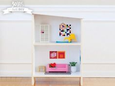 DIY Dollhouse From IKEA http://www.ivillage.com/diy-dollhouse-ikea/6-a-552701