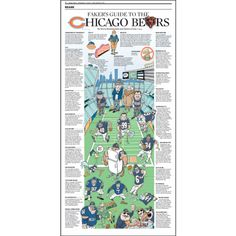 The Fakers Guide To The Bears | Chicago Trib Shops