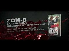 Zom-B by Darren Shan - Official trailer (+playlist) High School Books, Book Trailers, Books For Teens, Ya Books, Official Trailer, Horror, My Love, Zombies, Youtube