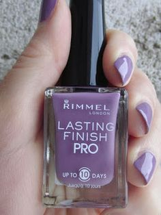 """This stunning shade reminds one of lilac, but is named after another gorgeous flower """"Wild Orchid"""" by Rimmel London."""