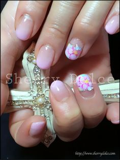 #nail #nails #nailart #flowers