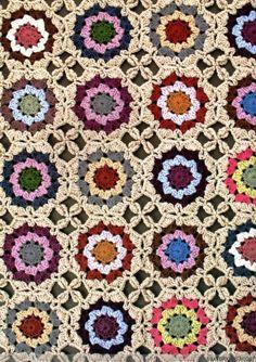 alfombra parquet - tejiendo feliz - feliz el blog de tejer